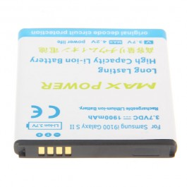 3.7V 1900mAh Rechargeable Extended Battery for Samsung I9100 Galaxy S II