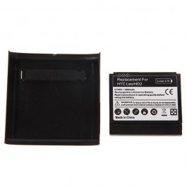 3.7V 2600mAh Rechargeable Extended Battery + Cover for HTC Leo/HD2