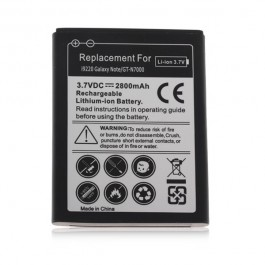 3.7V 2800mAh Rechargeable Lithium-ion Battery for i9220 Galaxy Note/GT-N7000