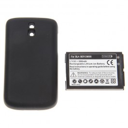 3.7V 3000mAh Rechargeable Extended Battery + Cover for Blackberry D9000
