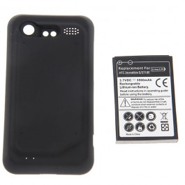 3.7V 3500mAh Rechargeable Extended Battery + Cover for HTC Incredible S/S710E/G11