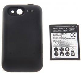 3.7V 3500mAh Rechargeable Extended Battery + Cover for HTC Wildfire S/A510e/G13