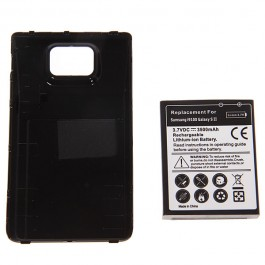 3.7V 3500mAh Rechargeable Extended Battery + Cover for Samsung i9100 Galaxy SII