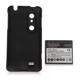 3.7V 3500mAh Rechargeable Lithium-ion Battery for LG P920/Optimus 3D P925/Thrill 4G