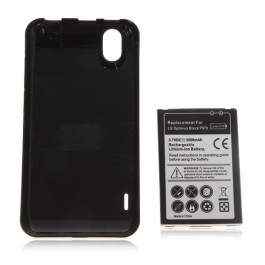 3.7V 3500mAh Rechargeable Lithium-ion Battery with Back Cover for LG Optimus Black P970