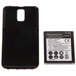 3.7V 3800mAh Rechargeable Extended Battery + Cover for Samsung Galaxy S II 2 Skyrocket i727