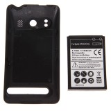 3.7V 3500mAh Rechargeable Extended Battery + Cover for Spring HTC EVO 4G
