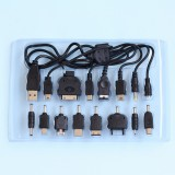 USB MULTI-CHARGE CABLE 4 MOBLIE PHONE MP3 MP4 PSP NDSL